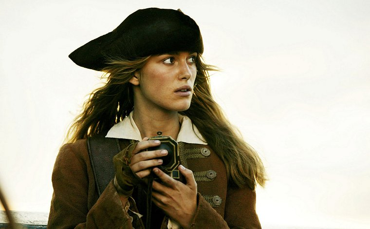 keira knightley on pirates of the caribbean. Keira Knightley as Elizabeth Swann Production Photo from Pirates