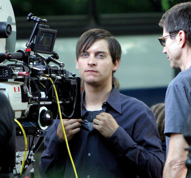 Tobey maguire black spiderman - photo#17