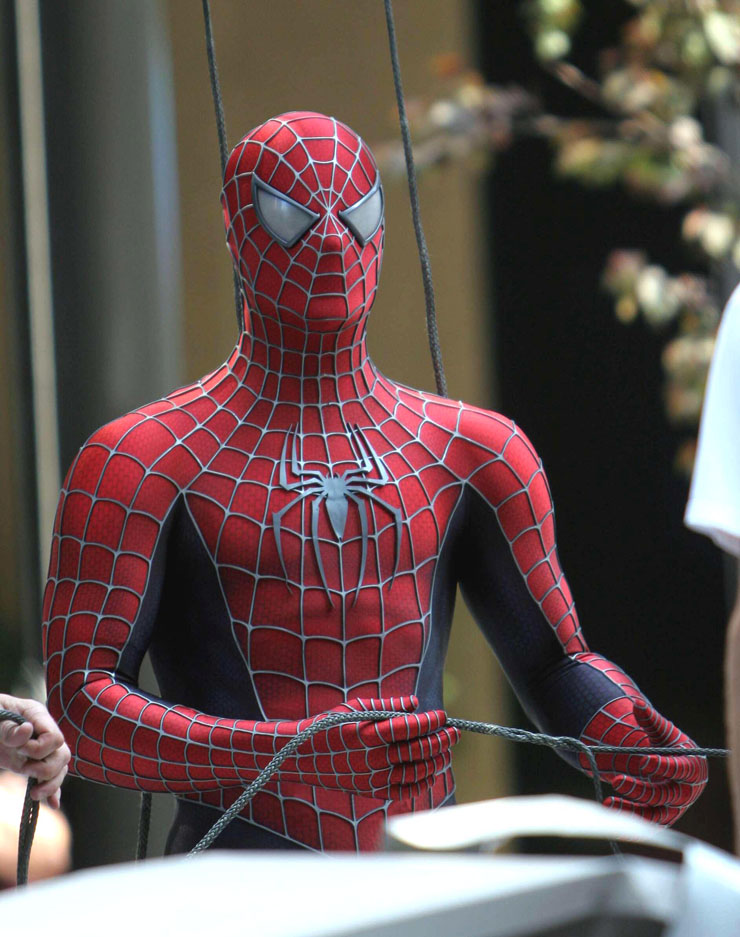 Tobey Maguire as Spider-Man Tobey Maguire